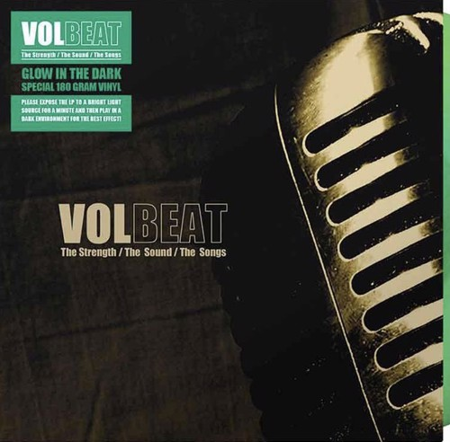 Volbeat - The Strength/The Sound/The Songs (Glow-in-the-dark Vinyl) (LP)