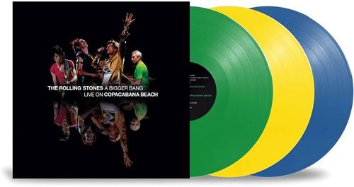 The Rolling Stones - A Bigger Bang - Live On Copacabana Beach (Coloured vinyl) - 3LP (LP)
