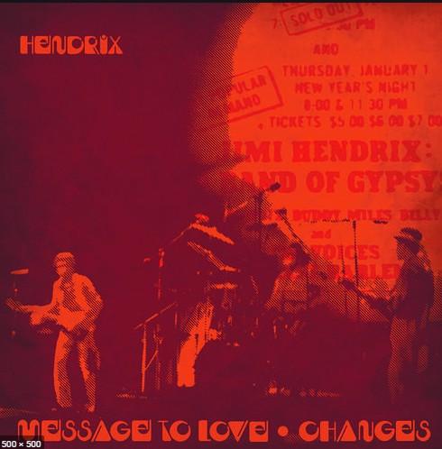 Jimi Hendrix - Message To Love / Changes (Orange vinyl) - RSD20 Sep (SV)