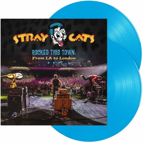 Stray Cats - Rocked This Town: From L.A. To London (Blue Vinyl) - 2LP (LP)