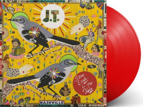 Steve Earle & The Dukes - J.T. (Red Vinyl Indie Only) (LP)