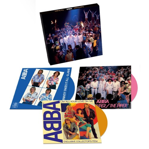 Abba - Super Trouper - 40th Anniversary Singles Box Set (Coloured vinyl) (SV)