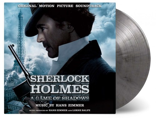 OST / Hans Zimmer - Sherlock Holmes - A Game Of Shadows (Coloured) - 2LP (LP)