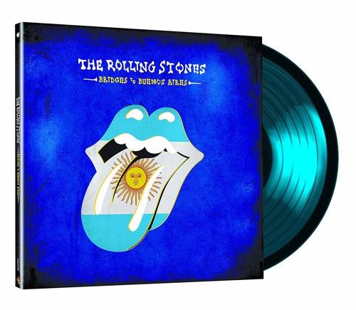 The Rolling Stones - Bridges To Buenos Aires (Translucent Blue Vinyl) - 3LP (LP)