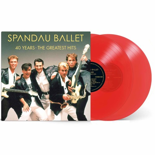 Spandau Ballet - 40 Years - The Greatest Hits (Red Vinyl) - 2LP (LP)