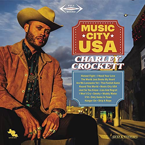 Charley Crockett - Music City Usa (+ Signed Print) - Indie Only (LP)