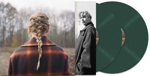 Taylor Swift - Evermore (Green vinyl) - 2LP (LP)