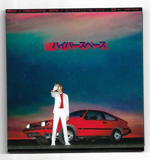"""Beck - Uneventful Days - 3"""" Disc - BF19 (SV)"""