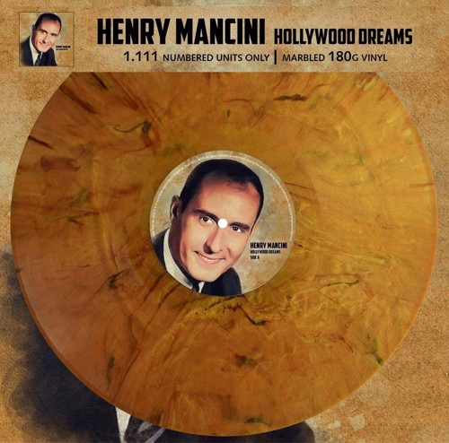 Henry Mancini - Hollywood Dreams (Golden brown marbled vinyl) (LP)