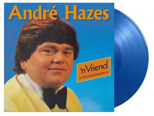 Andre Hazes - 'n Vriend (Blauw Vinyl) (LP)