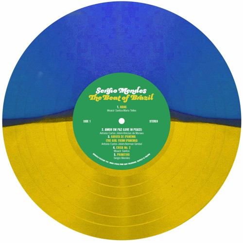 Sergio Mendes - Beat Of Brazil (Yellow/Blue Vinyl) (LP)