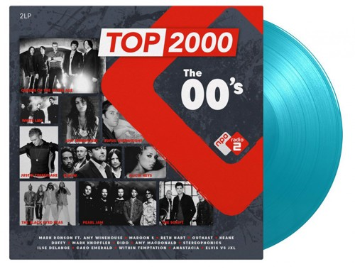 Various - Top 2000 - The 00's (Turquoise Vinyl) - 2LP (LP)