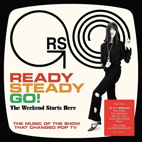 Various - Ready Steady Go! - The Weekend Starts Here (10 x Vinyl Singles box set) (SV)