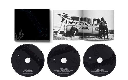 Metallica - Metallica (3CD Expanded Edition Black album)