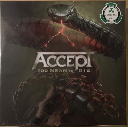 Accept - Too Mean To Die (Box Set) - Splatter vinyl (LP)