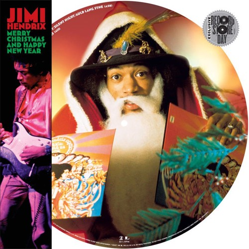 *  Jimi Hendrix - Merry Christmas and Happy New Year (Picture disc) - BF19 (MV)