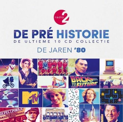 Various - De Pre Historie - De Jaren '80 Deel 1 - Box set (CD)