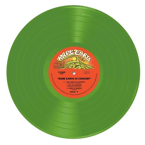Rare Earth - Rare Earth In Concert (Green vinyl) - 2LP (LP)