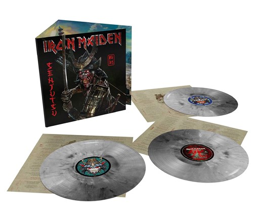 Iron Maiden - Senjutsu (Silver, Black & White Vinyl) - 3LP (LP)
