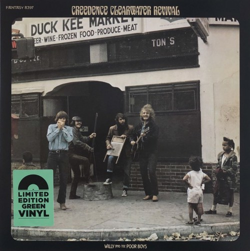 Creedence Clearwater Revival - Willy And The Poor Boys (Green Vinyl) - Indie Only (LP)