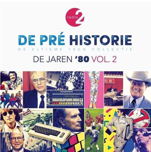 Various - De Pre Historie - De Jaren '80 Vol. 2 - 10CD (CD)
