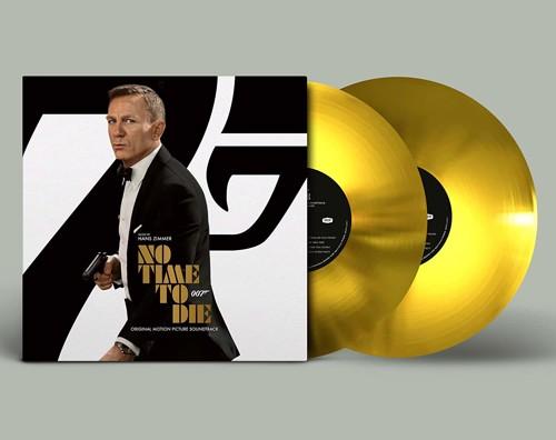 OST / Hans Zimmer - No Time To Die (Gold Vinyl) - 2LP (LP)