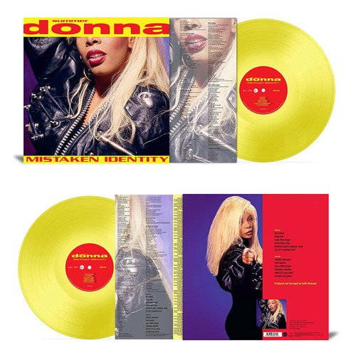 Donna Summer - Mistaken Identity (Yellow Vinyl) (LP)
