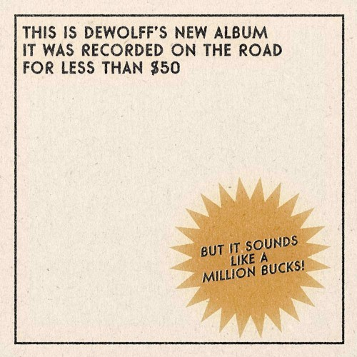 Dewolff - Tascam Types (White Vinyl) (LP)