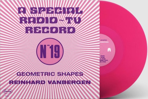 Reinhard Vanbergen - Geometric Shapes - A Special Radio-TV Record (LP)